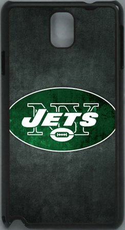 Review:  NFL New York Jets Logo PC Hard Shell Black Skin Cover Case for Samsung Galaxy Note 3 N9000 by Qinchao Sports #26