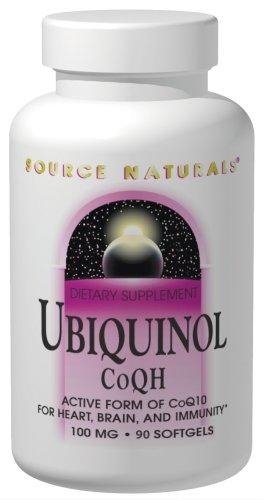 Source Naturals Ubiquinol CoQh 100mg, 90 Softgels