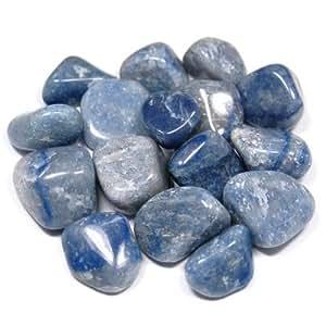 """Tumbled Blue Quartz (Brazil) (1"""" - 1-1/2"""") - 1pc."""