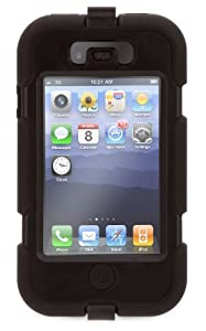 Griffin Custodia Survivor per iPhone 4 e 4S, Nero