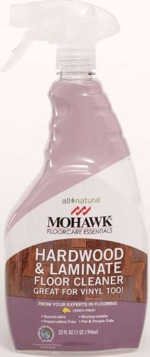 Mohawk FloorCare Essentials Hardwood & Laminate Floor Cleaner - 32 Ounce Spray Bottle