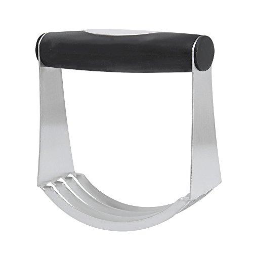 Drappeggi e impasto frullatore 2in 1, jtdeal 100% Pasta Mixer Frullatore a mano in acciaio con manico in gomma antiscivolo ideale per uso domestico e professionale