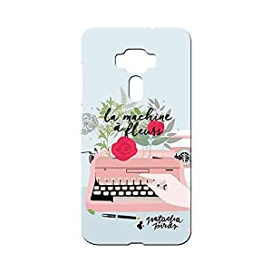 BLUEDIO Designer Printed Back case cover for Asus Zenfone 3 - G3949