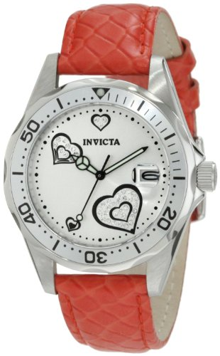 Invicta Women's Pro Diver Heart Analogue Watch