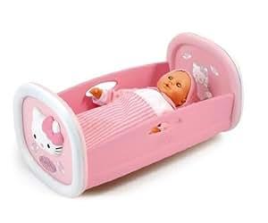 smoby 24062 poup e et mini poup e hello kitty lit bascule jeux et jouets. Black Bedroom Furniture Sets. Home Design Ideas