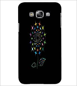 PrintDhaba Digital Flower D-2032 Back Case Cover for SAMSUNG GALAXY A7 (Multi-Coloured)