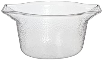 Carlisle IG101107 Clear 3.7-qt. Wine/Ice Bucket with Handles (Case of 4)