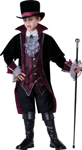Vampire of Versailles Child Costume (Black) Size Size 6