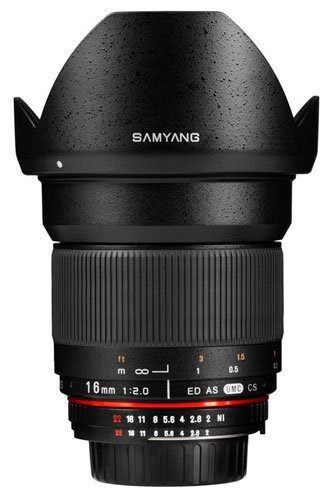 Samyang SY16M-E 16mm f/2.0 Aspherical Wide Angle Lens for Sony E-Mount