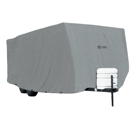 Classic Accessories OverDrive PolyPRO 1 Travel Trailer RV Cover, Fits 27' - 30' RVs - Breathable and Water Repellant Travel Trailer Cover (80-178-181001-00) (Travel Trailer Covers 28 compare prices)