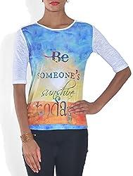 Lotsa Fashion Women's Graphic Design T-Shirt (S)