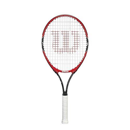 Wilson Roger Federer Rkt 25 Racchetta, Rosso/Grigio