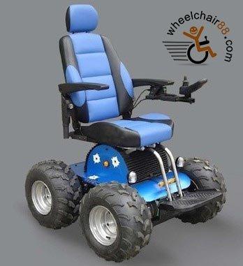 4x4 power wheelchair_stair climbing wheelchair