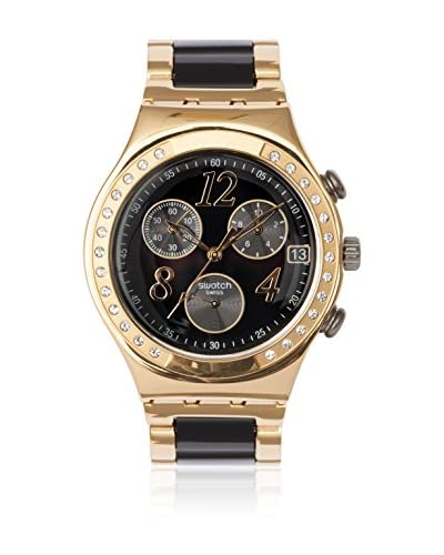 Swatch Reloj de cuarzo Woman DREAMNIGHT YELLOW YCG405G 40 mm