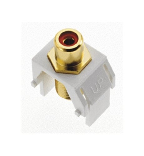 Onq / Legrand Wp3462Wh Keystone Redrca To Fconnector, White