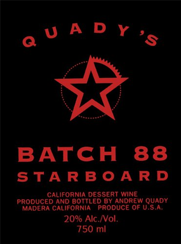 Nv Quady Batch 88 Starboard Blend - Red 750 Ml