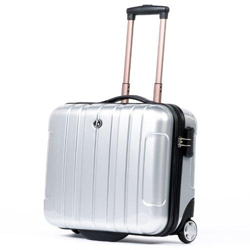 Ferg valigetta da pilota paris leggero trolley per for Bagaglio a mano con custodia per laptop rimovibile