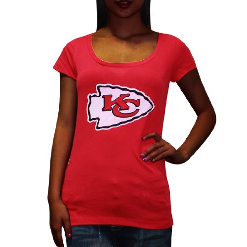 Pink Victoria's Secret Womens NFL Kansas City Chiefs T Shirt M Red Amazon.com