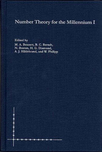 Number Theory for the Millennium I: Vol 1