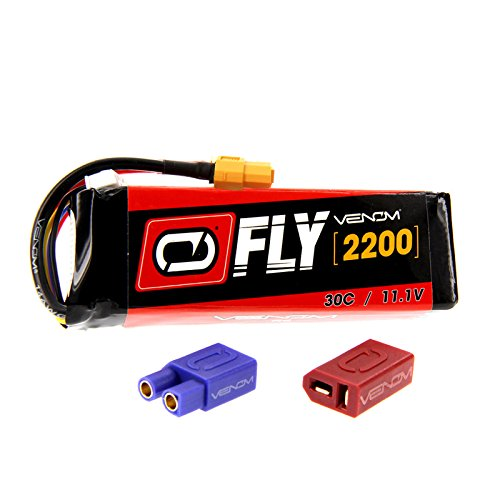 Venom Fly 30C 3S 2200mAh 11.1V LiPo Battery with Universal 2.0 Plug