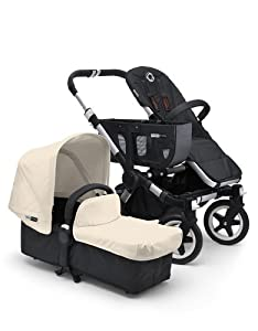 Bugaboo Donkey Tailored Fabric Set, Off White (Discontinued by Manufacturer)