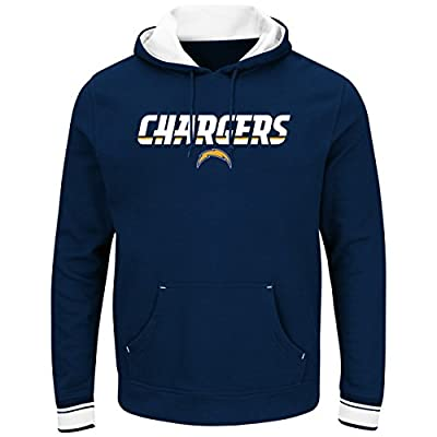 "San Diego Chargers Majestic NFL ""Championship"" Men's Pullover Hooded Sweatshirt"