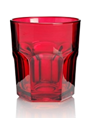 American Soda Tumbler Glass