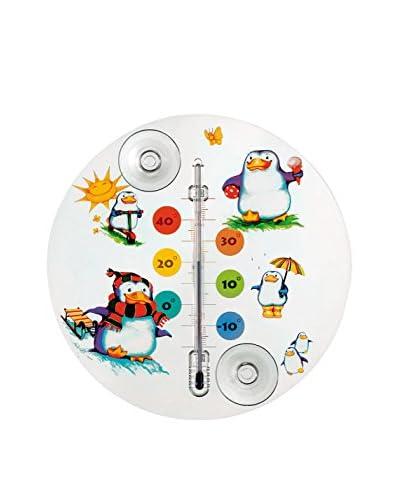 Ziel Termometro Pingu Bianco/Multicolore