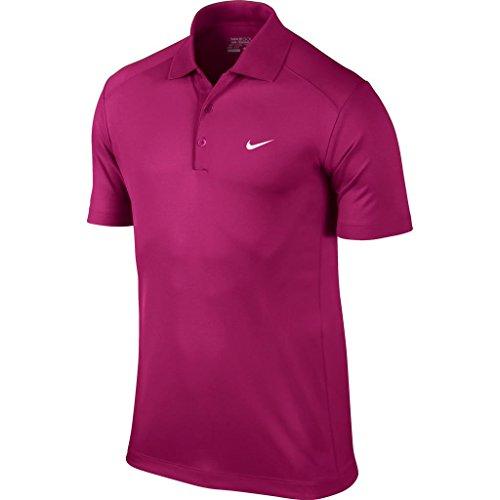 2014 Nike Victory Golf Polo Shirt LC Mens Sport Fuchsia XL
