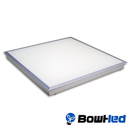 bowhed 2x2 ft led ceiling panel fixture t bar recessed. Black Bedroom Furniture Sets. Home Design Ideas