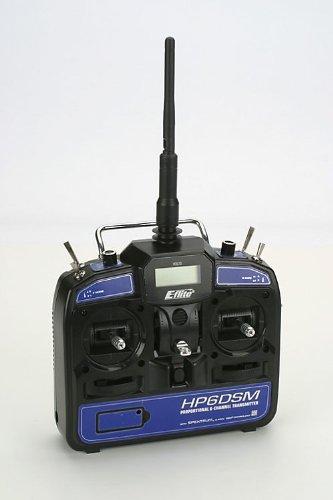 HP6DSM 6-Channel Transmitter, 2.4GHz DSM2: BCPP2