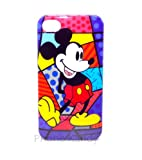 Phone Kandy - Retro Mickey Mouse iPhone 4 Case with Anti Glare Screen Guard Cartoon Cover Shell