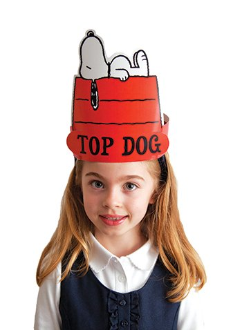 Eureka Peanuts Snoopy Top Dog Wearable Cut Out Hats front-966839