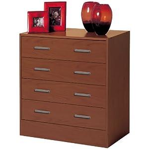 Cassettiera settimino com in kit legno ciliegio ct6331 for Cassettiera amazon
