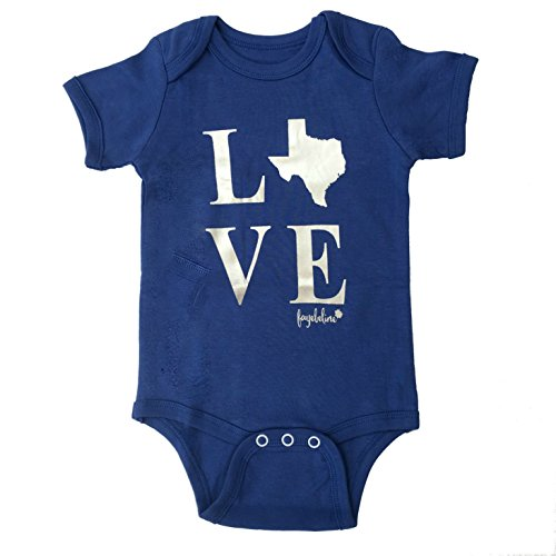 Texas Baby Onesie Fayebeline Boutique Quality