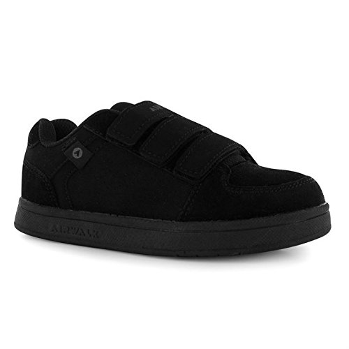 airwalk-brock-kinder-jungen-skate-schuhe-turnschuhe-sport-klett-sneaker-grau-1-33