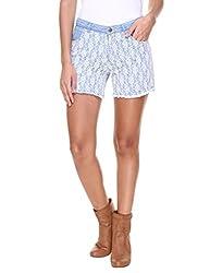 Alibi Women's Shorts (ALBR000108A_28_Blue_28)