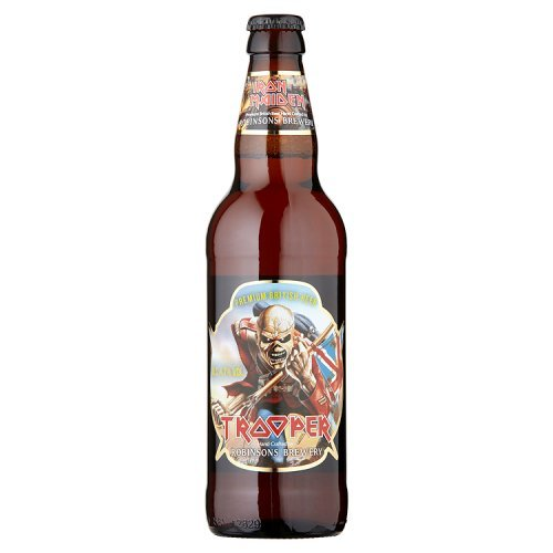 Robinsons discount duty free Robinsons Iron Maiden Trooper Premium British Beer, 500ml