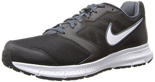 Nike Downshifter 6 Scarpe da ginnastica, Uomo, Black/White-Dk Magnet Grey, 42
