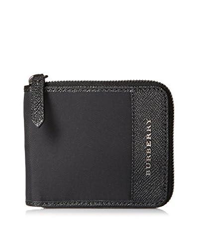 Burberry Men's Zip Wallet, Black
