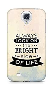 Amez Always look on the Bright Side of Life Back Cover For Samsung Galaxy S4