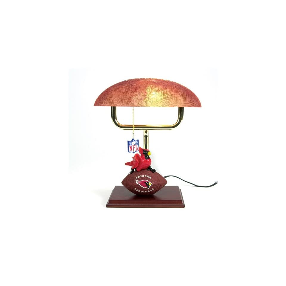 14 NFL Arizona Cardinals Football Mascot Office Desk Lamp