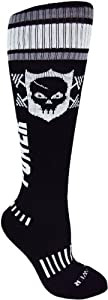 MOXY Socks Powerful Power Skull Knee-High CrossFit Deadlift Socks from MOXY Socks