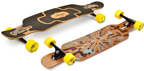 Loaded Tan Tien Flex 2 Complete Longboard With Paris Trucks, Orangatang Stimulus Wheels