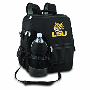 NCAA LSU Fightin Tigers Turismo Insulated Backpack Cooler by Picnic Time