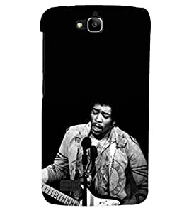 PRINTSHOPPII PERSONALITIES MUSIC Back Case Cover for Huawei Honor Holly::Honor Holly