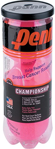 Penn Pink Championship XD Tennis Balls (Single Can)