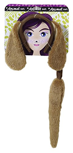 Forum Novelties Women's Playful Animals Dog Costume Accessory Set