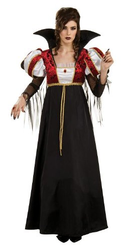 Women's Royal Vampire Halloween Costume Gown