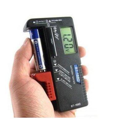 sodial r lcd tester prova pile batterie 9v 1 5v aaa c d voltaggio tester per batterie. Black Bedroom Furniture Sets. Home Design Ideas